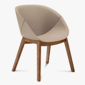 Čalouněná židle COQUILLE-L