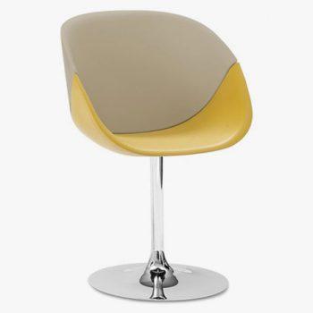 Čalouněná židle COQUILLE-P
