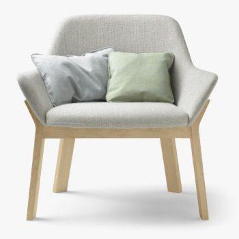 Čalouněná židle KOILA LOUNGE